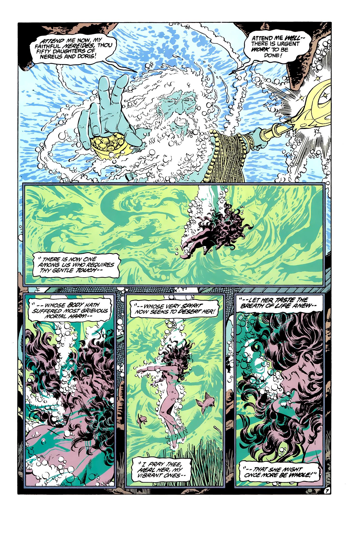 Read online Wonder Woman (1987) comic -  Issue #7 - 7