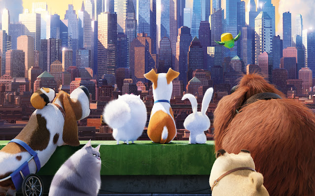 The Secret Life of Pets was fun to watch from start to finish