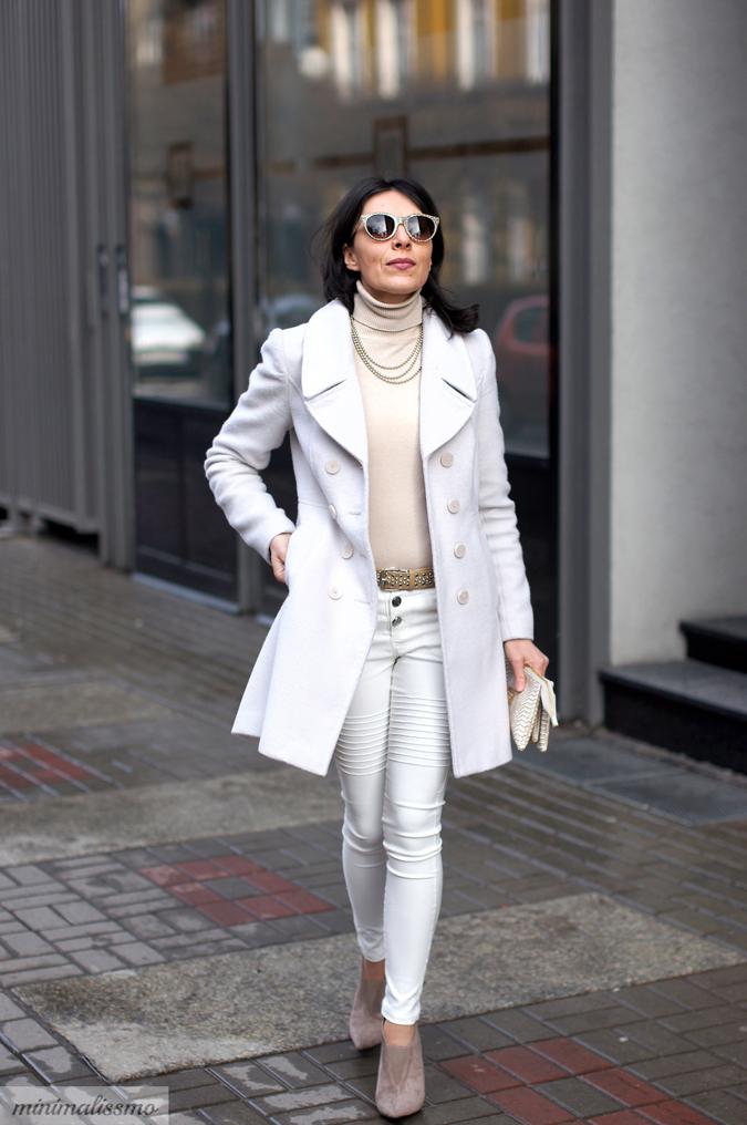 Biały New Look