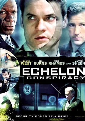 Echelon Conspiracy 2009 DVDR NTSC Latino