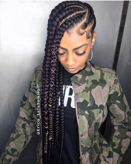 Jumbo Lemonade braids have become one of the most trendy braided hairstyles 39 Stunning Jumbo Lemonade Braids Styles to Try ASAP