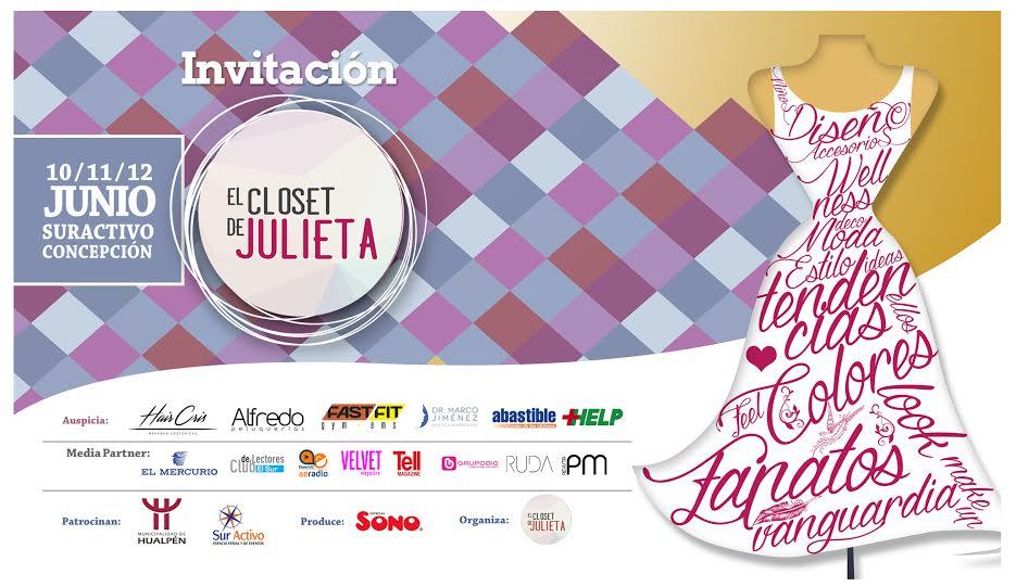 Pamela Victoria en El closet de julieta - concepción, expo moda