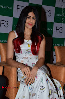 Bollywood Actress Adah Sharma Pos in White Printed Short Dress at OPPO F3 Plus Selfie Expert Mobile Launch .COM 0018.jpg