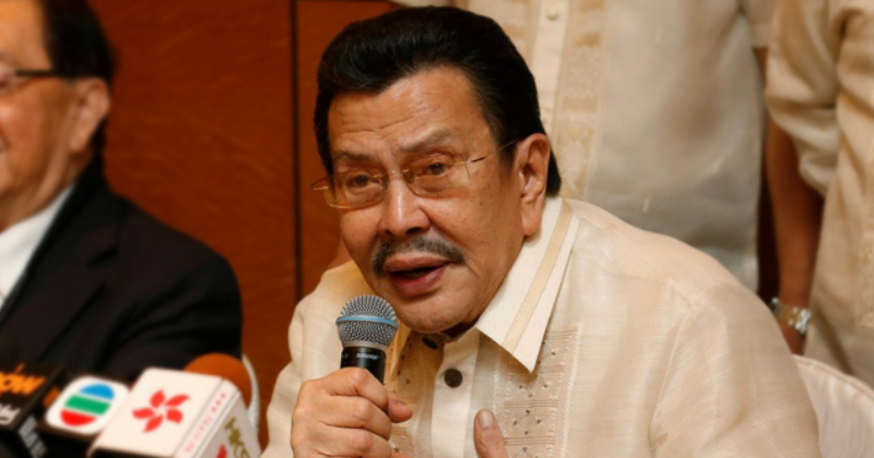 Joseph Estrada supports Duterte's name and shame drug campaign