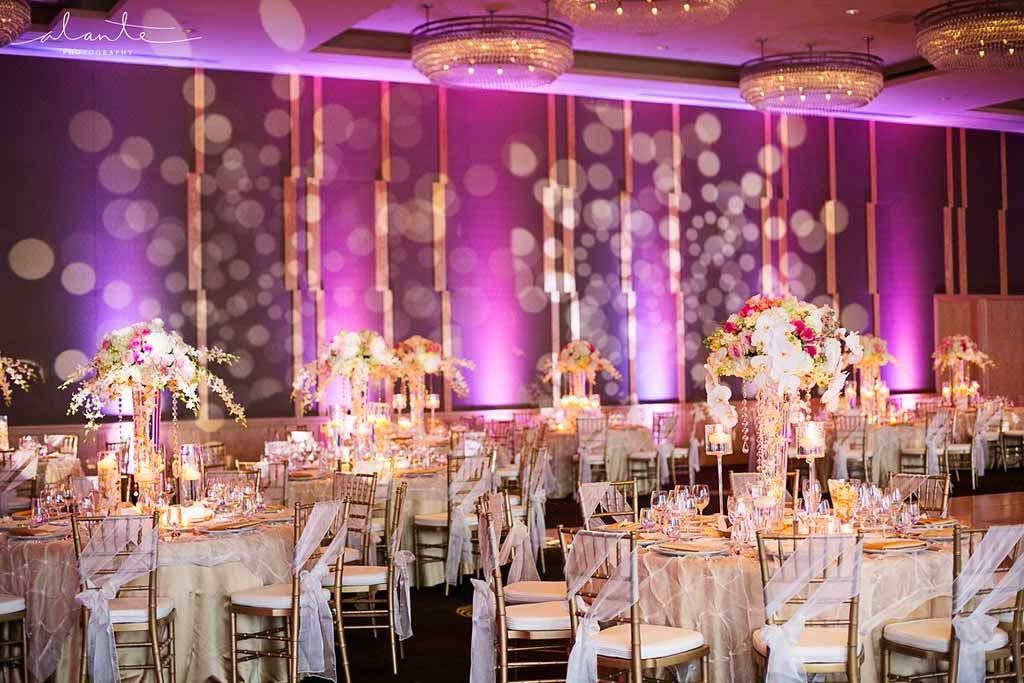 Four Seasons Hotel Seattle Wedding Luxury Reception Flora Nova Design