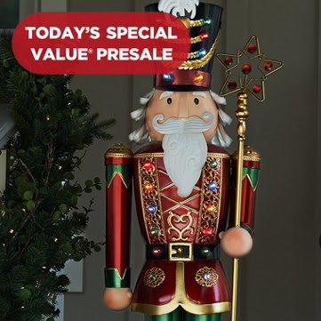 1st 31st annual christmas in july sale kringle express indooroutdoor illuminated oversized decoration 12496 available in 5 payments - Qvc Christmas Decorations