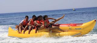 Banana Boat Bali Nusa Dua Kss Bali Tour