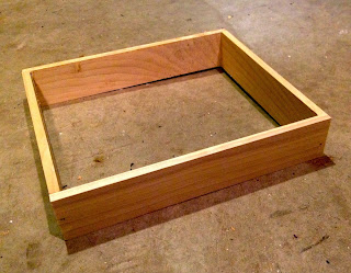 edge frame for base