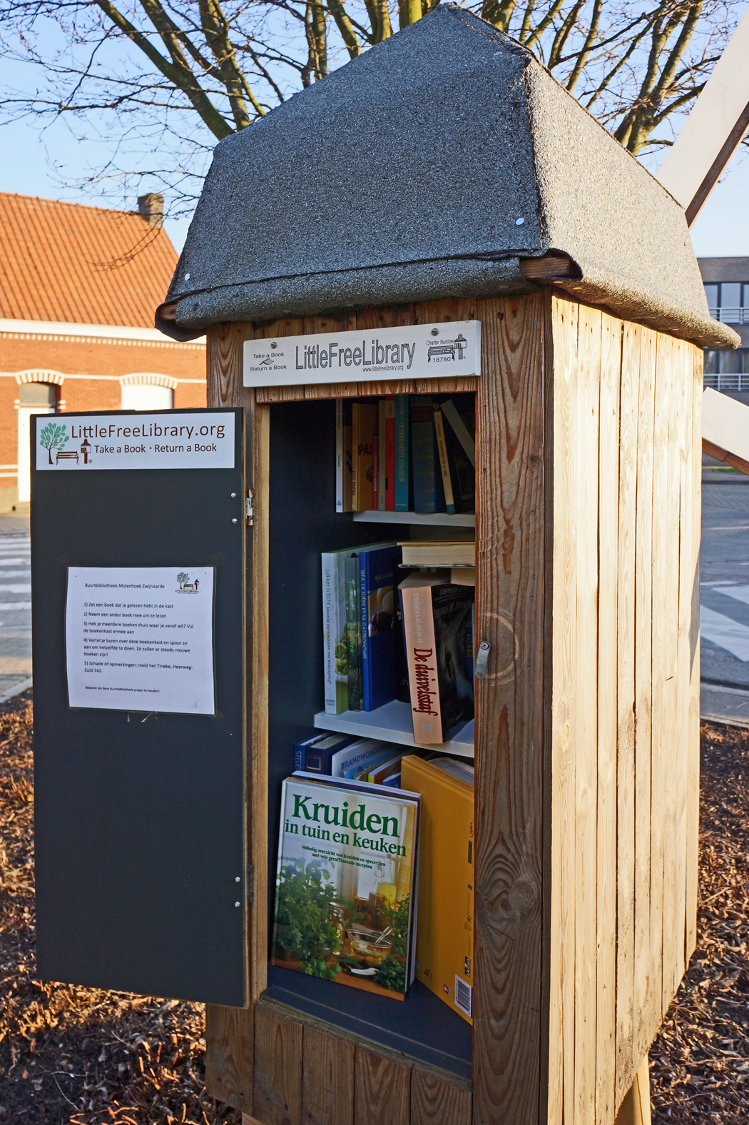 Little Free Library Zwijnaarde