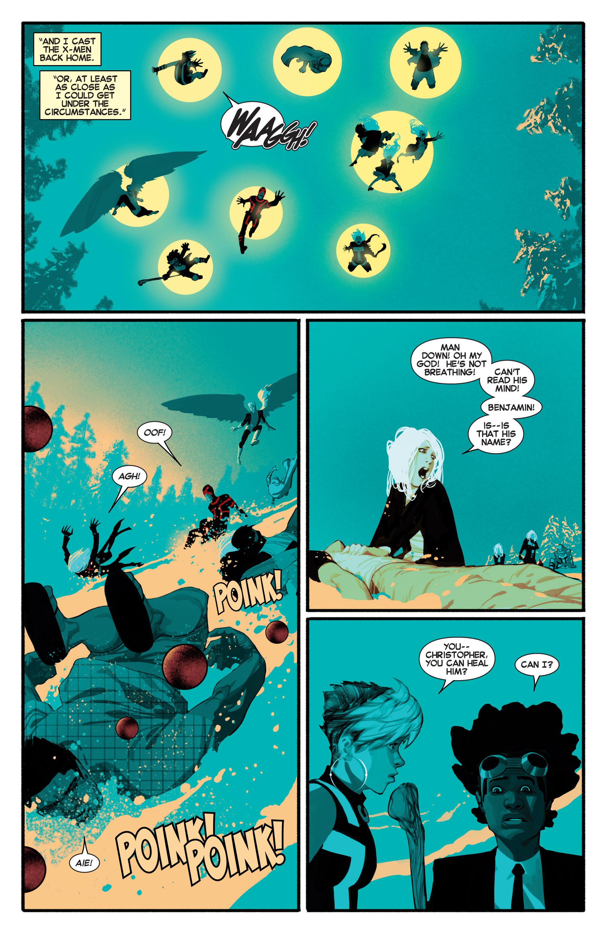 Read online Uncanny X-Men (2013) comic -  Issue #7 - 13