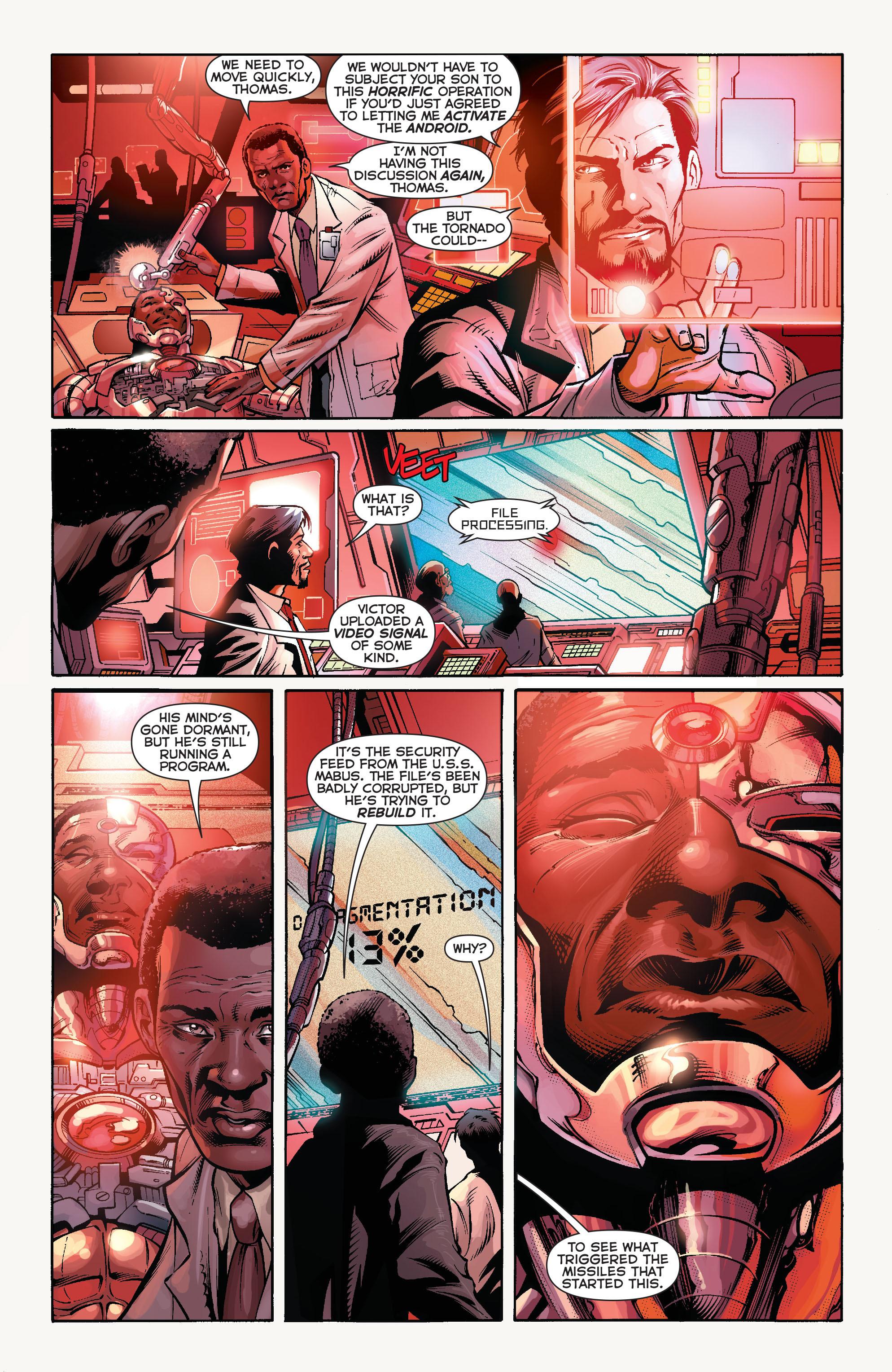 Read online Aquaman (2011) comic -  Issue #16 - 3