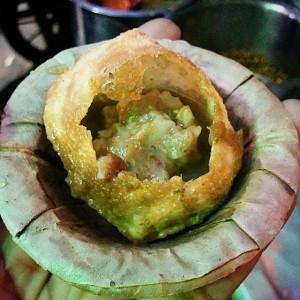 Image of Pani puri in Eastern India