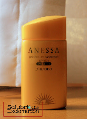 Salubrious Selection: Shiseido Anessa Perfect UV Sunscreen SPF 50+ PA++++