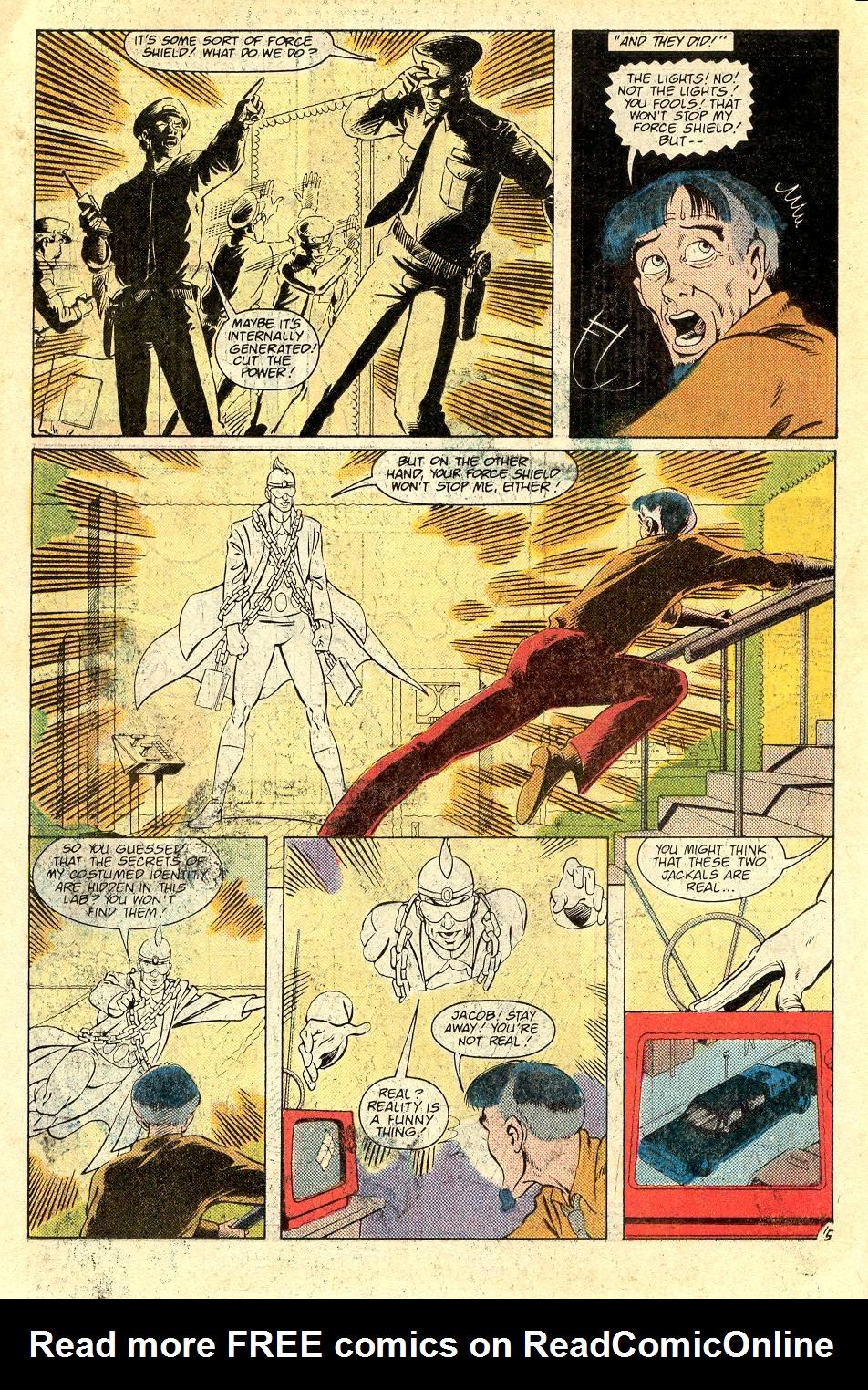 Read online Secret Origins (1986) comic -  Issue #37 - 38