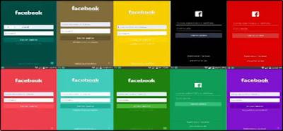 تحميل الفيسبوك الذهبي الوان الفيسبوك