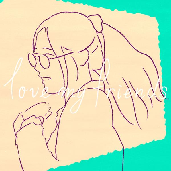 MindaRyn - love my friends [2021.04.14+MP3+RAR]