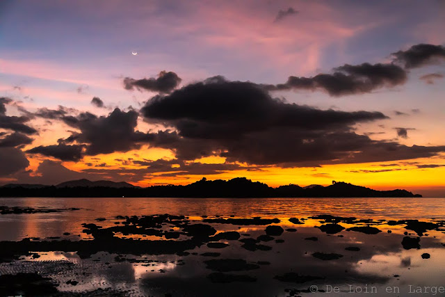 Sunset Colors-Port Barton-Palawan-Philippines