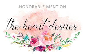The Heart Desires Blog -August'17 Challenge !!