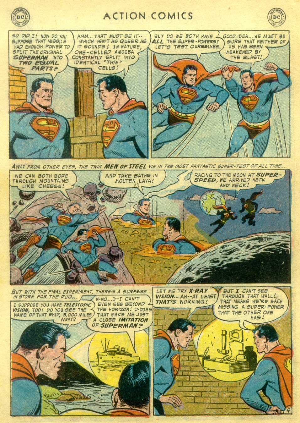 Read online Action Comics (1938) comic -  Issue #222 - 5