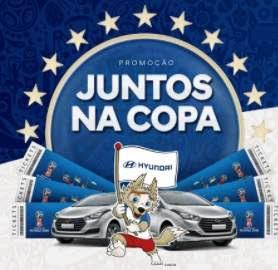 Cadastrar Promoção Hyundai Juntos Na Copa 2018 Carros Viagens Prêmios Instantâneos