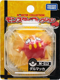 Darumaka figure Takara Tomy Monster Collection M series