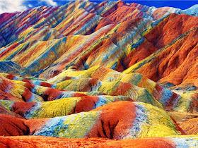 جريدة البلاغ الإخبارية: التلال قوس قزح في الصين