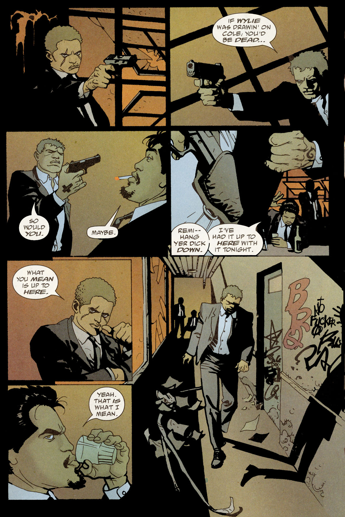 Read online 100 Bullets comic -  Issue #80 - 15