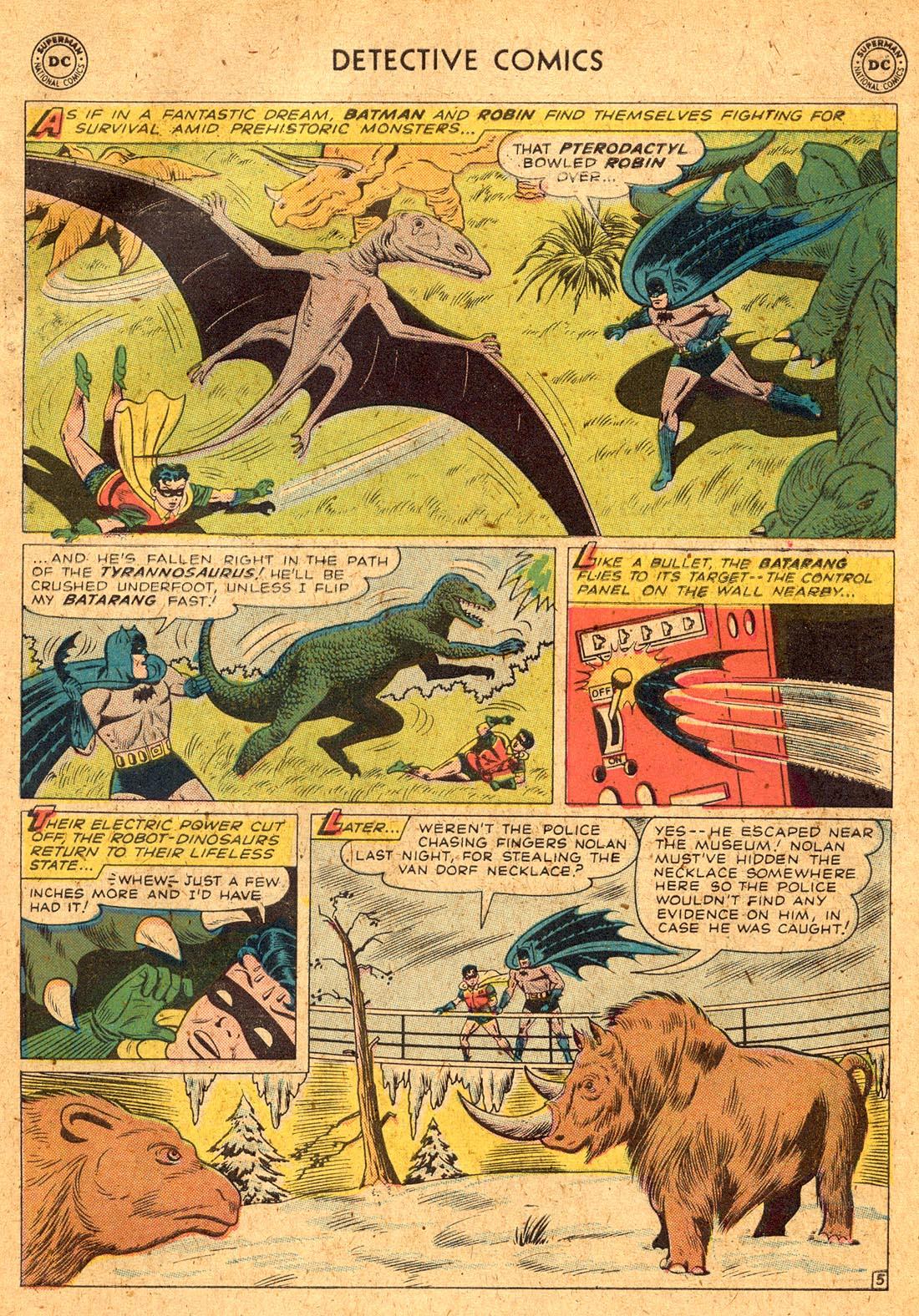 Read online Detective Comics (1937) comic -  Issue #255 - 7