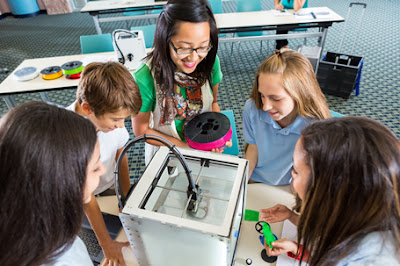 3D printers and laser trimmers