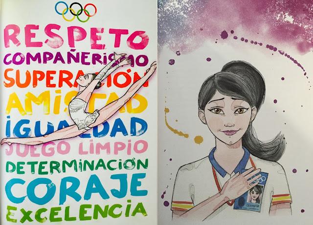 #OlympiaCuentos #AlmudenaCid #GimnasiaRitmica #hoyleemos #porqueleerimporta #Olympia #LosJuegosOlimpicosDeAtlanta