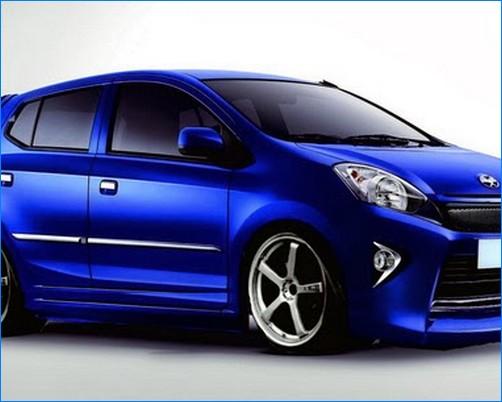 Modifikasi mobil agya terbaru trd tipe g s bagian dalam interior