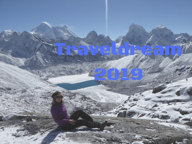 2019: i viaggi che vorrei fare. Sullo sfondo il Gokyo lake