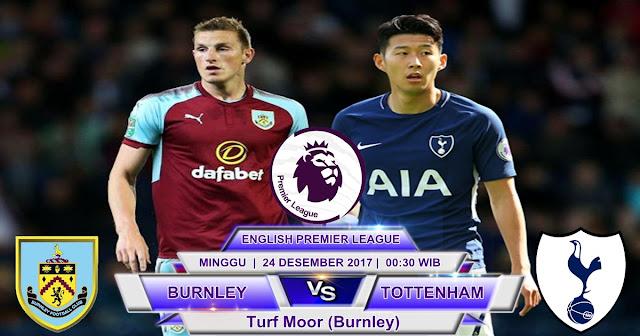 BOLA 365 - Prediksi Burnley vs Tottenham Hotspur 24 Desember 2017