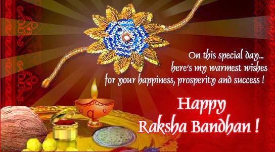 Happy Rakshabandhan Quotes SMS Message Wishes
