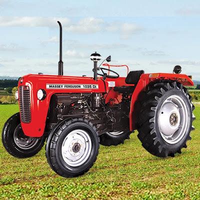 TAFE MF 1035 tractor