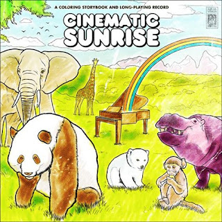 cinematic sunrise a coloring storybook and long-playing records