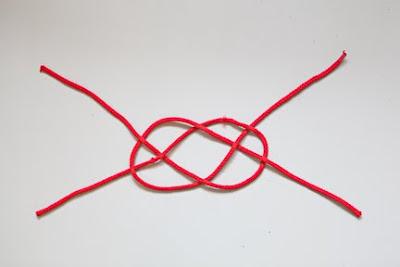 Denizci Düğümü İle Saç Bandı Yapımı 5