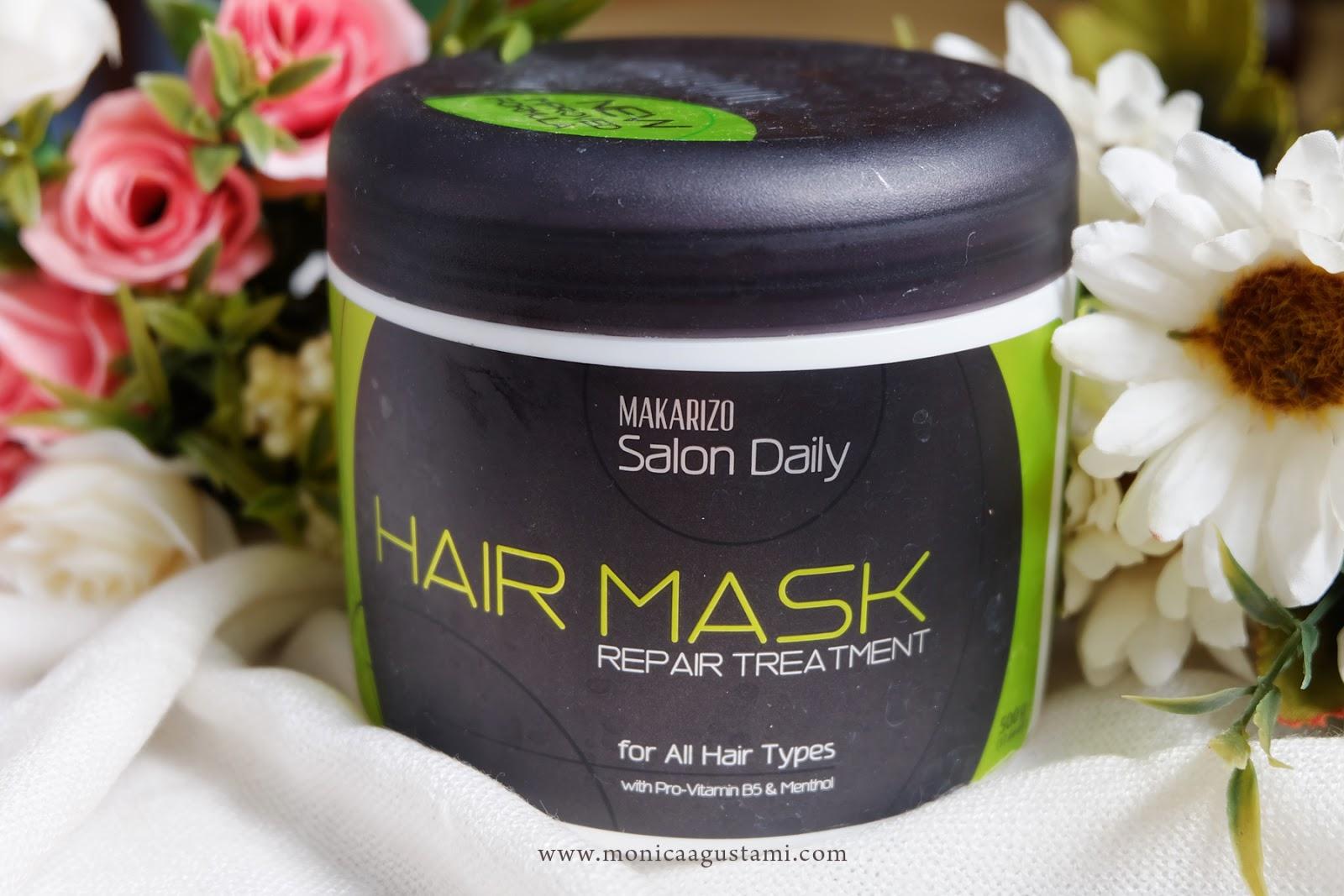 3 Produk Untuk Merawat Rambut Yang Diwarnai Monica Agustami