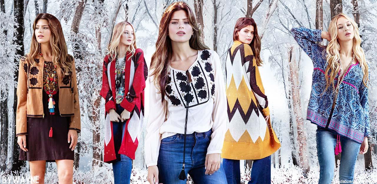 Moda otoño invierno 2019: Looks de moda urbana y bohemia para mujer otoño invierno 2019.