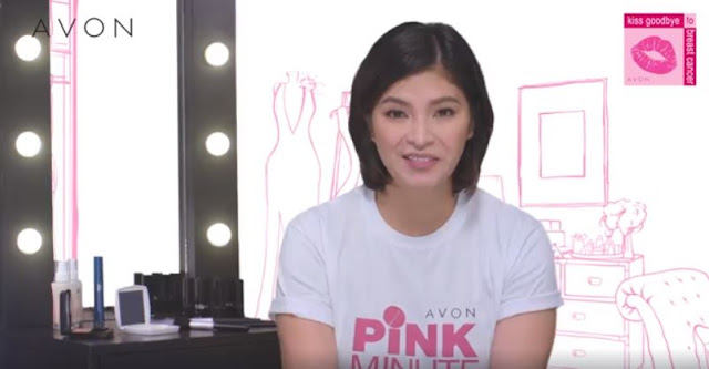 Angel Locsin Raised Awareness on Breast Cancer and Proves That It Takes Just One Minute To Save A Life!