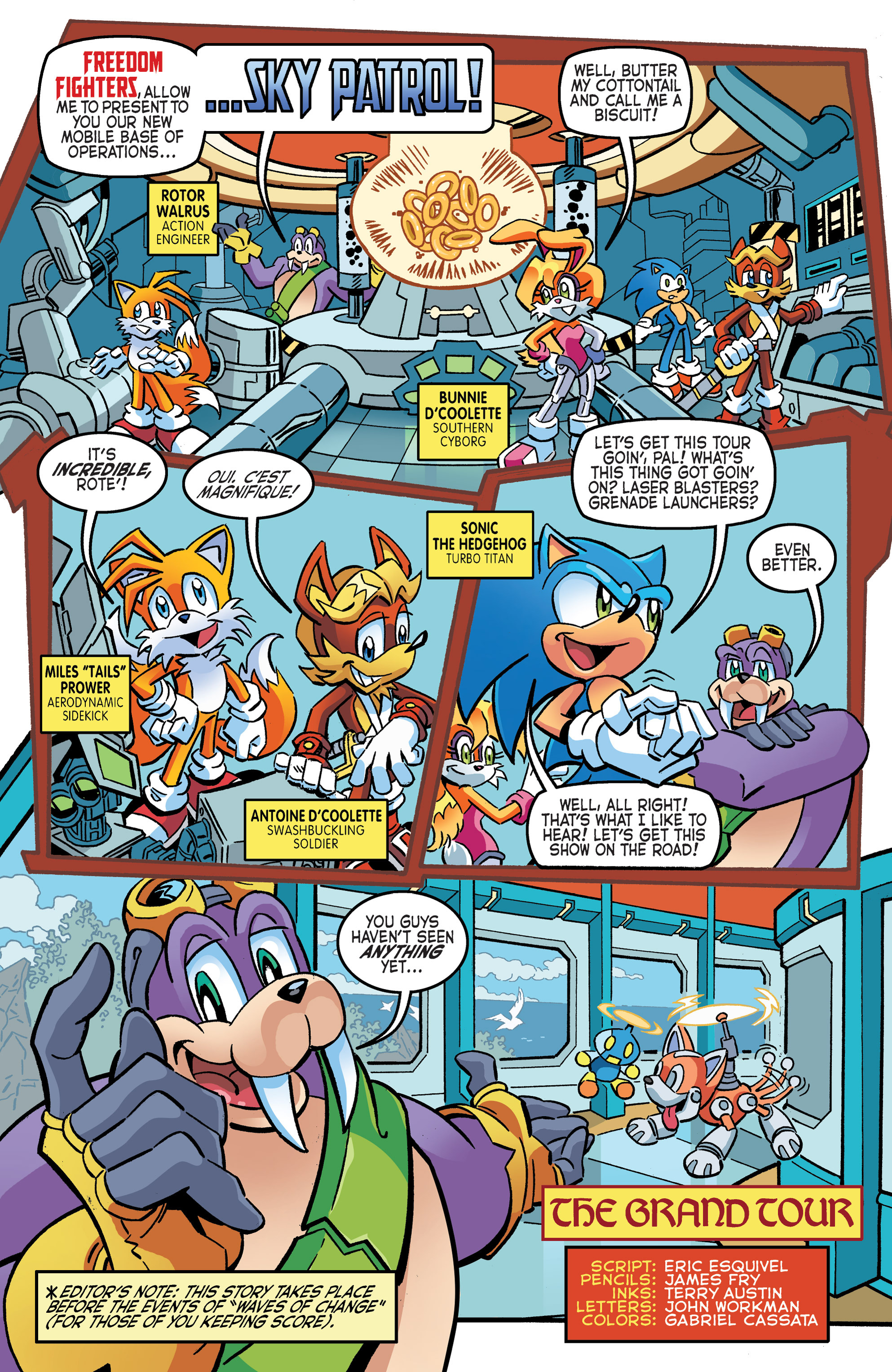 Read online Sonic The Hedgehog comic -  Issue #265 - 18