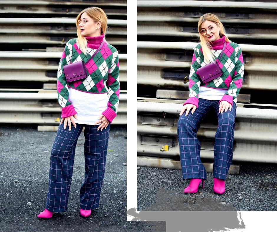 Kurze Pullover stylen, wie trage ich einen kurzen Pullover