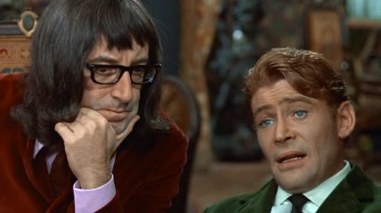 Peter Sellers y Peter O'toole