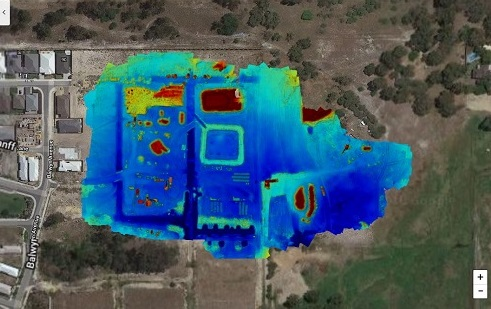 Drone Site Scan Stockpile Volume using Drone Deploy - Image 3