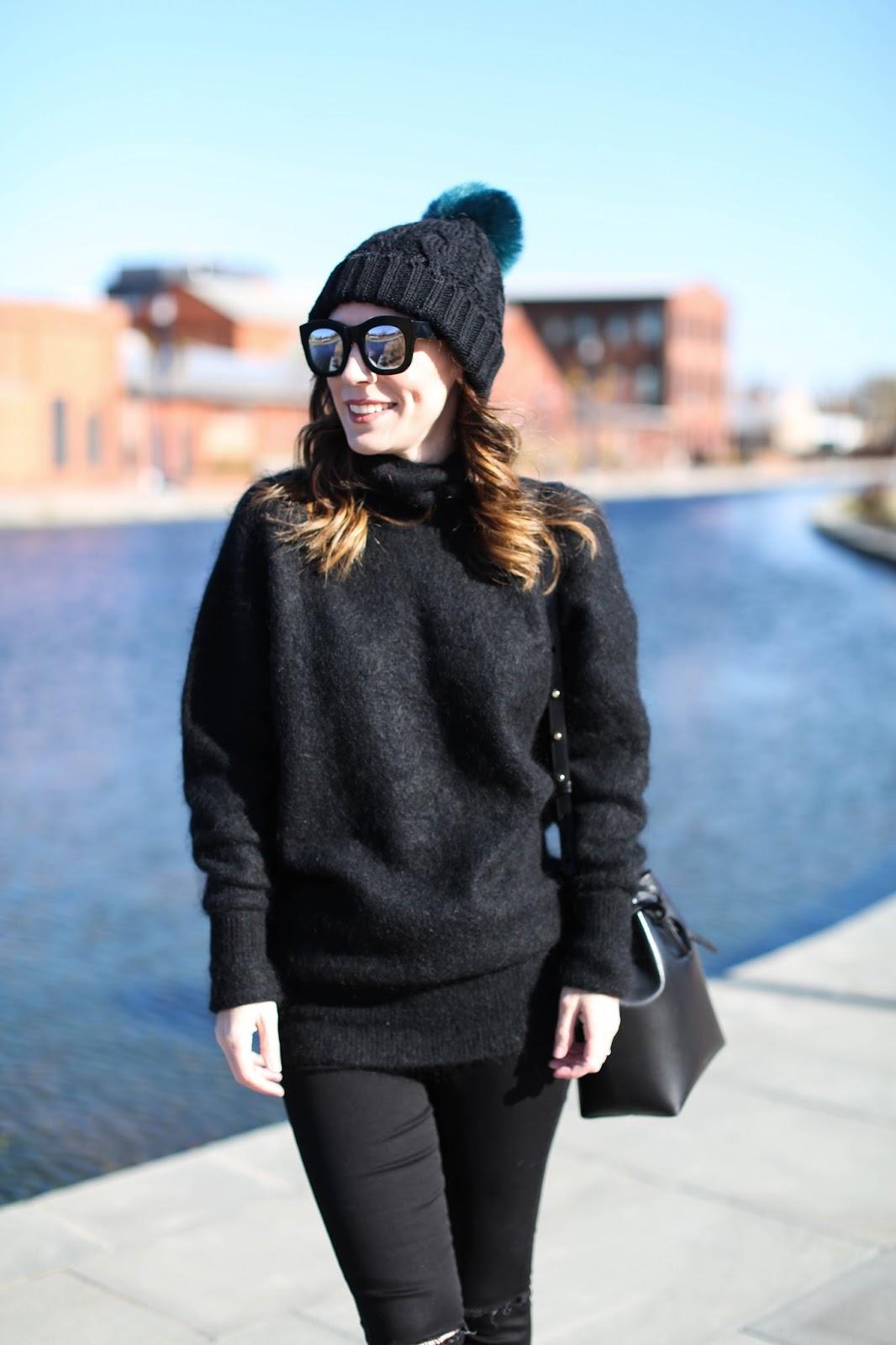 Acne mohair sweater