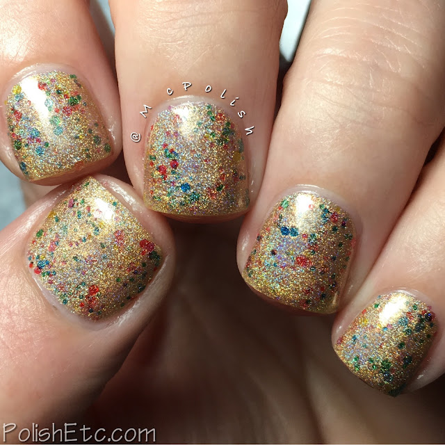 Nine Zero Lacquer - Holiday 2016 Collection - McPolish - Golden Lights