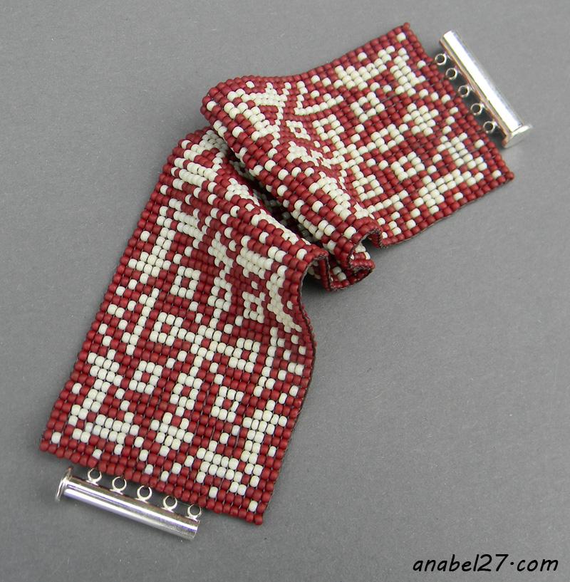 этника бисер браслет подарок девушке