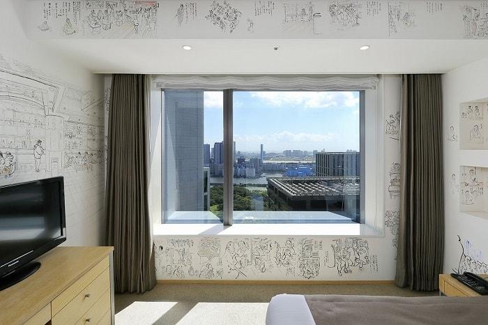 "No. 26 – Park Hotel Tokyo Artist Room 'Japanese People"" designed by Osamu Nakajima"