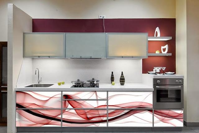 Vitrinas de cristal decoradas el blog de cocinas santa pola - Vitrinas de cocina ...