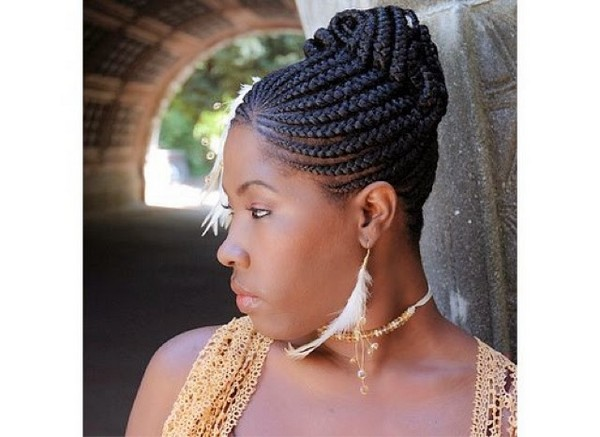 Straight back Ghana braids to try out this season with beautiful pictures - BlogIT with OLIVIA!!!